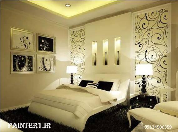 خلاقیت در رنگ اتاق خواب